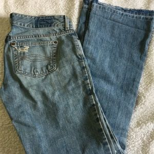 Abercrombie & Fitch destroyed jeans